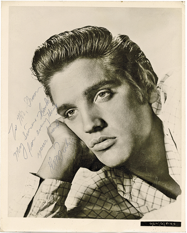 Elvis Presley Guns Auctions True West