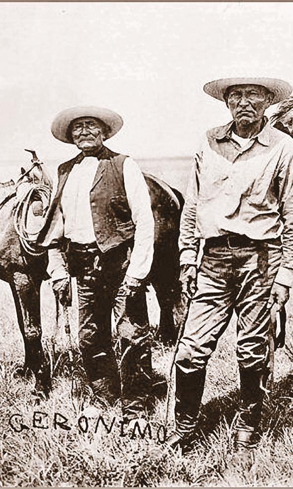 Geronimo Mexican Vaqueros True West Magazine