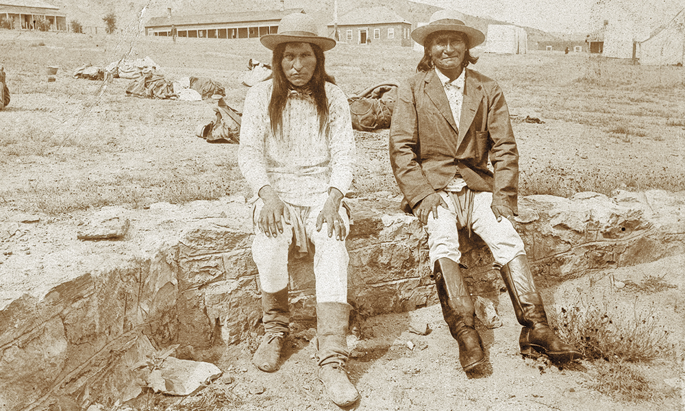 Geronimo Mexican Vaqueros True West Magazine