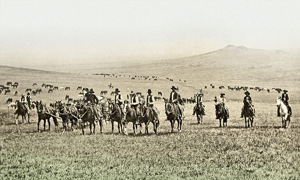 Breaking Broncs Bow-Gun Ranch Boys True West
