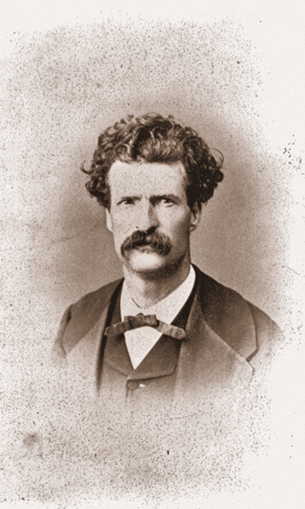 Mark Twain Samuel Langhorne Clemens true west