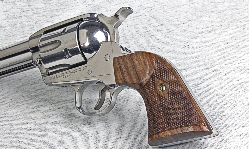 cowboy mounted shooting guns true west
