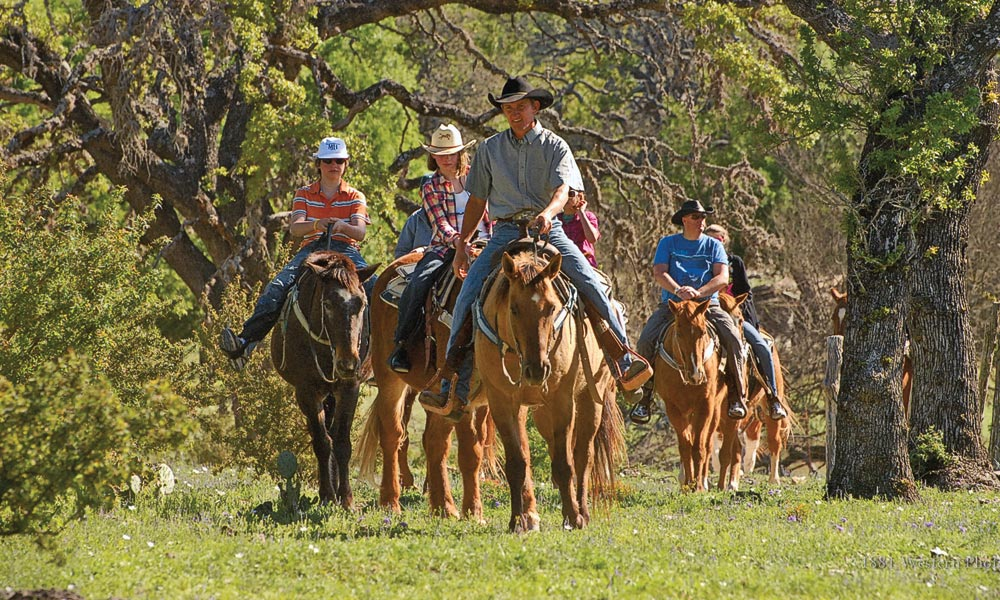 bandera texas horseback riding true west