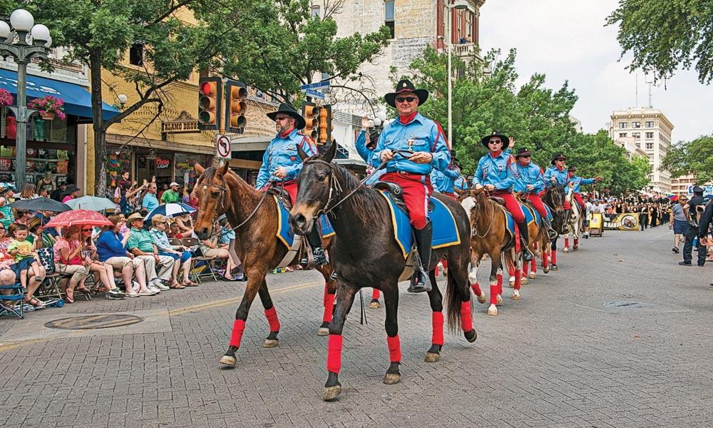 texas san antonio parade true west
