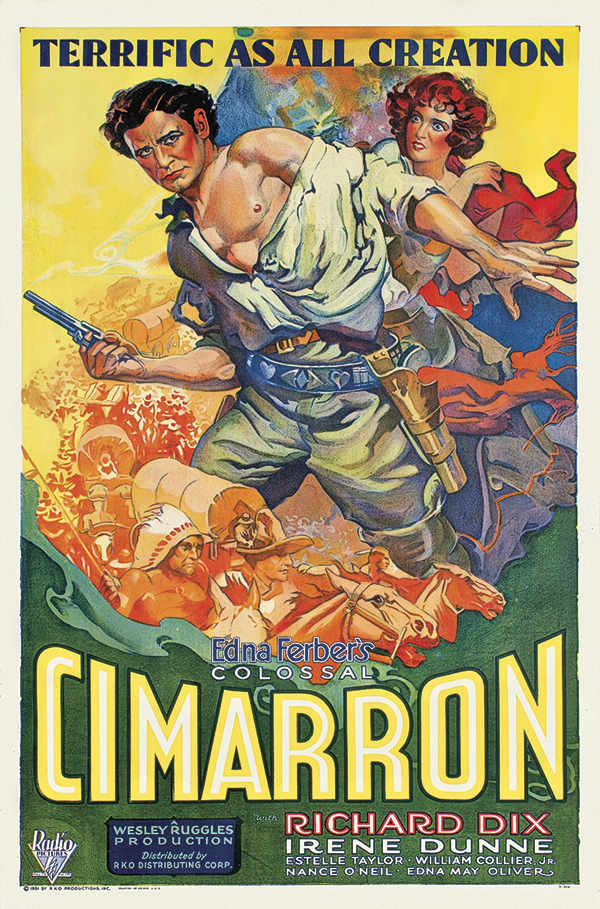 cimarron movie poster true west