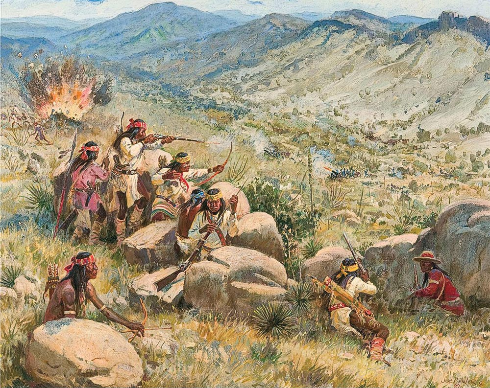 battle of apache pass by joe beeler true west