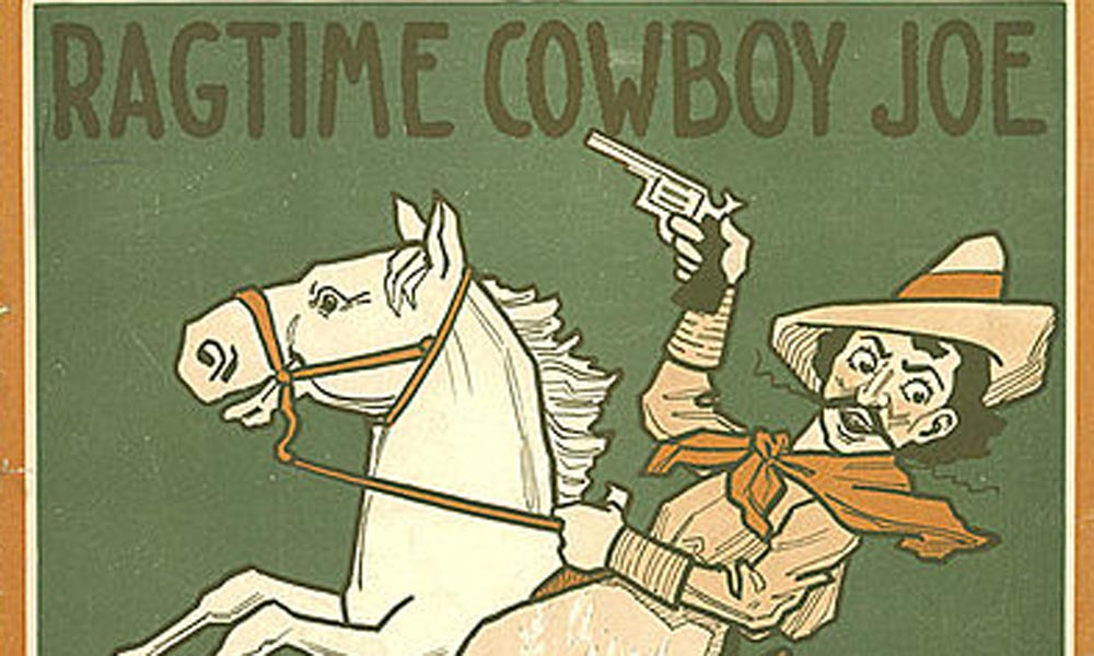 ragtime cowboy joe true west