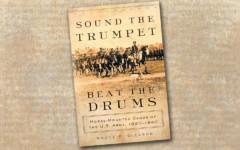 sound the trumpet beat the drums true west