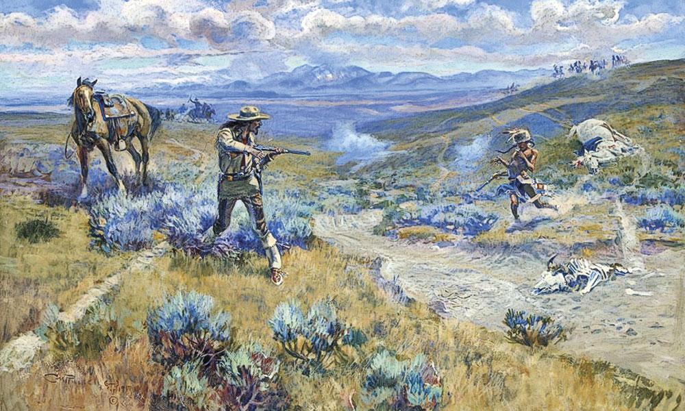 Buffalo Bill George Custer Little Bighorn Cheyennes Indians Native Americans True West