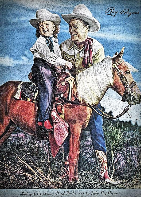 Cheryl Rogers Barnett Roy Rogers Western History True West
