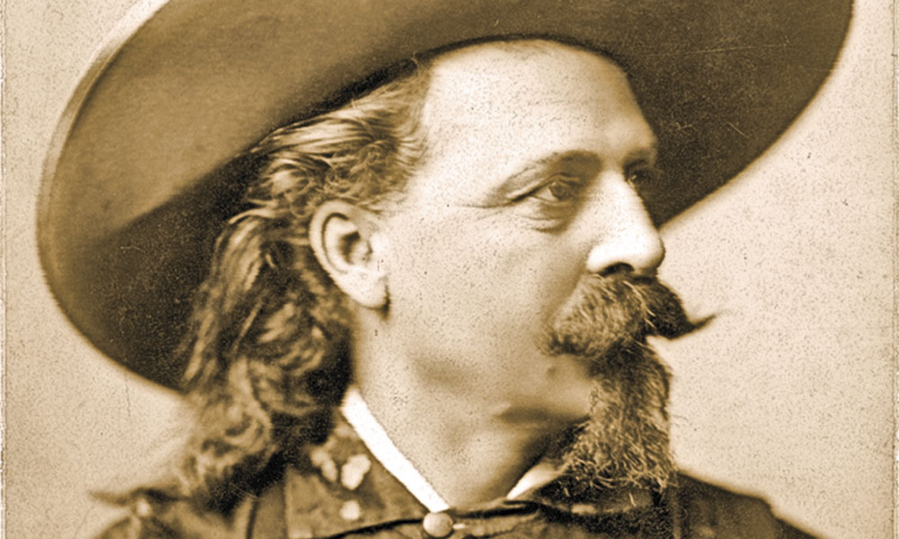 William F. Cody Buffalo Bill True West
