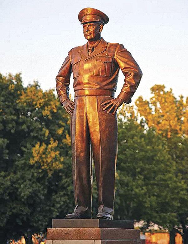Dwight Eisenhower Wild Bill Hickok Abilene True Western Towns True West