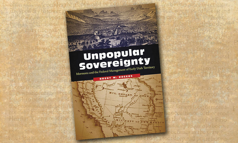 sovereignty mormons utah territory true west