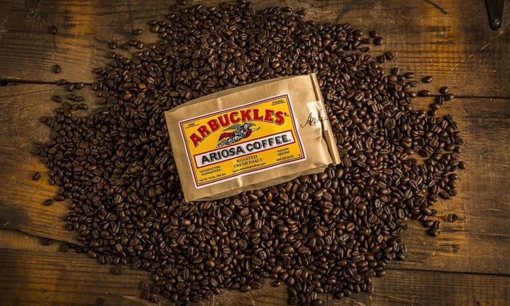 Arbuckles coffee true west