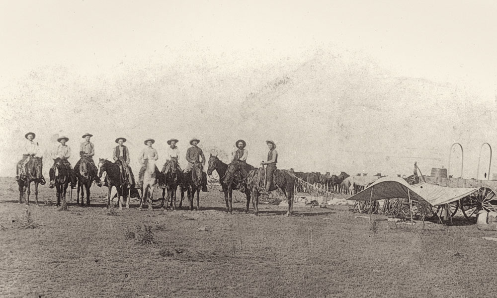 Shawnee-Arbuckle Cattle Trail Western Books True West