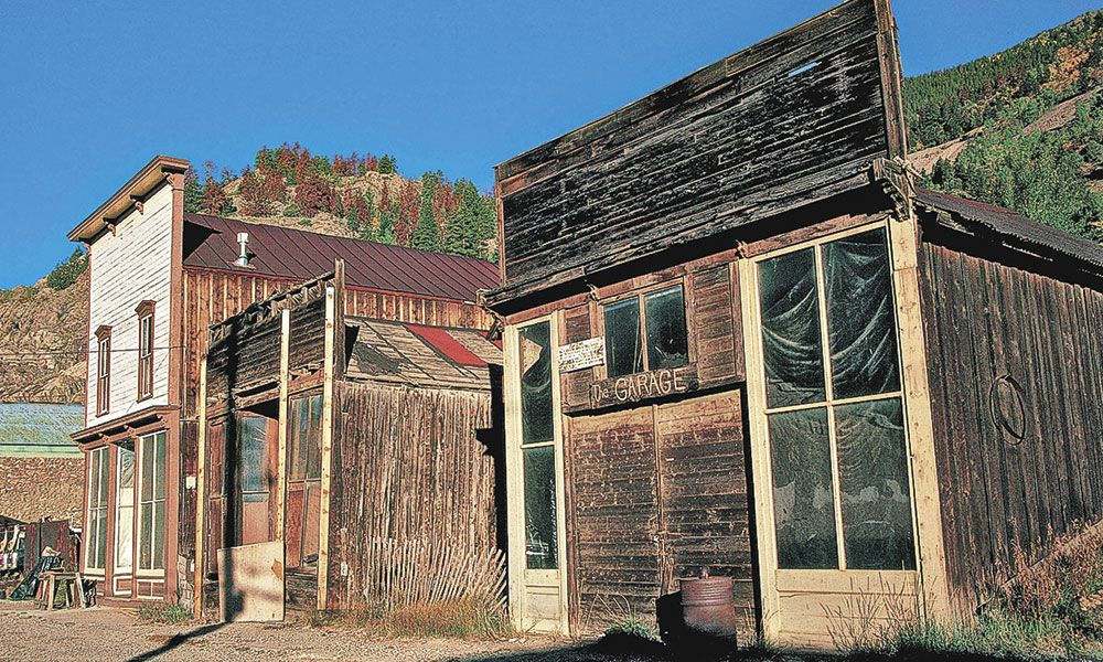 Ghost Towns Miners Gold True West