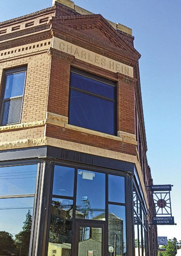 North Dakota Pioneer Town Historic Building Restoration True West