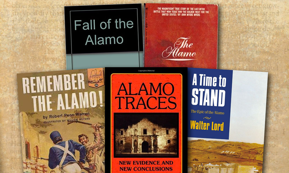 William Groneman III Western Novels The Alamo True West