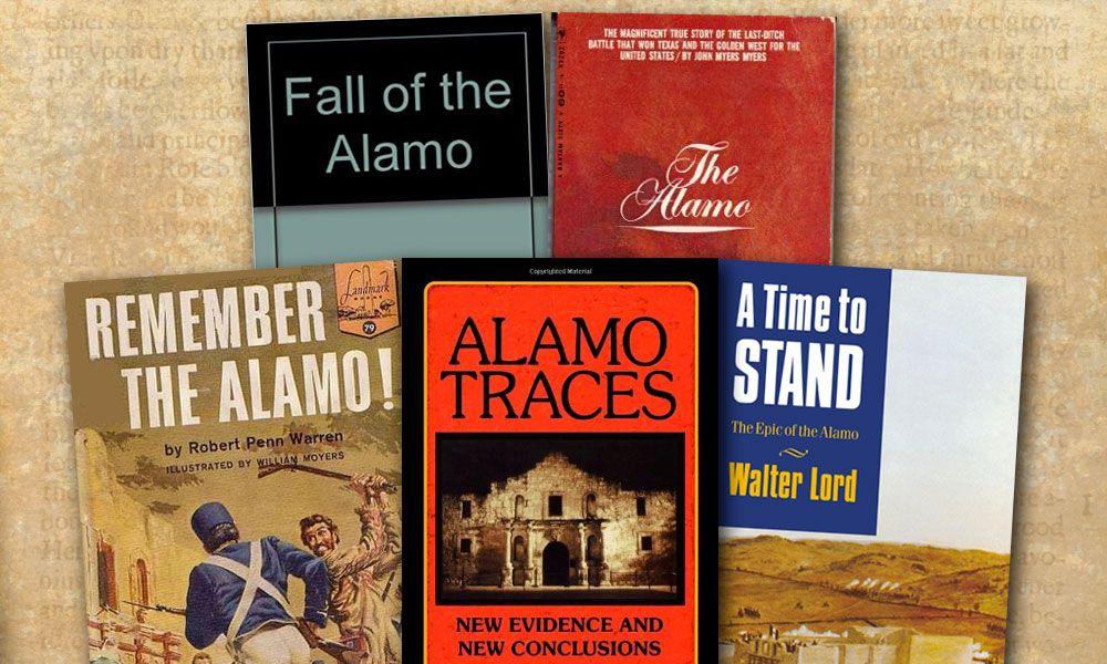 William Groneman III Western Novels The Alamo True West