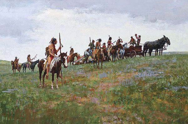Thomas Moran Western Art William R Leigh True West