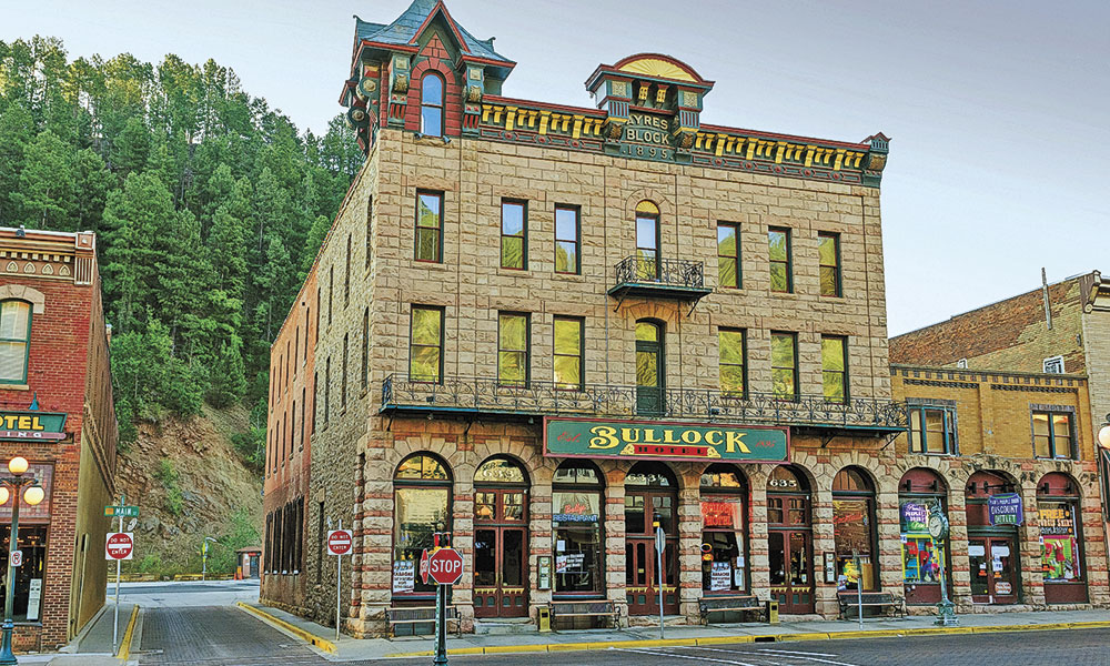 Deadwood South Dakota Western Towns True West