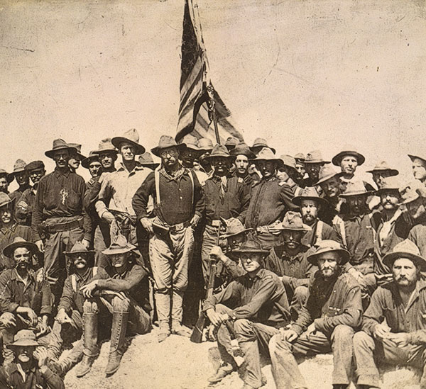 Spanish American War Cuban Roosevelt's Boys True West