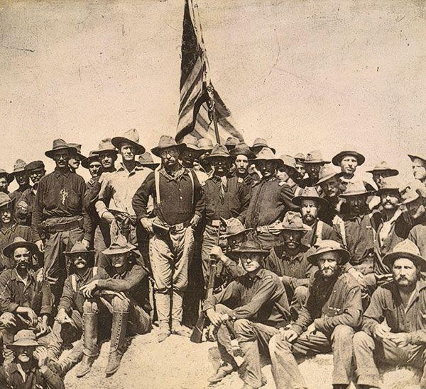 Spanish American War Cuban Roosevelt's Boys True West