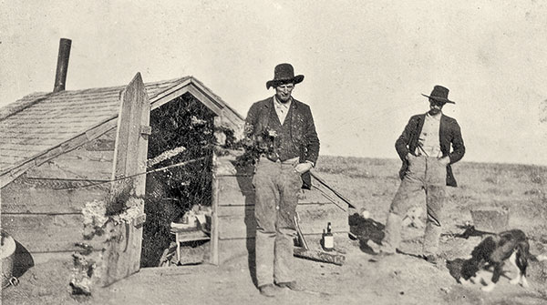 JW Jarrott Mollie Jarrott Cattle Ranchers Settlers True West