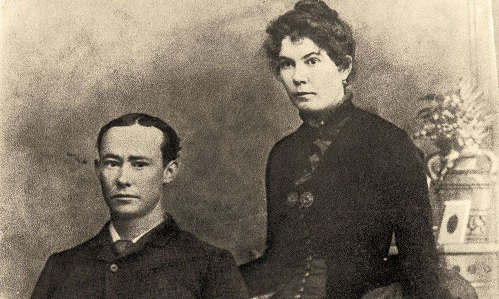 JW Jarrott Mollie Jarrott Cattle Ranchers Settlers True West