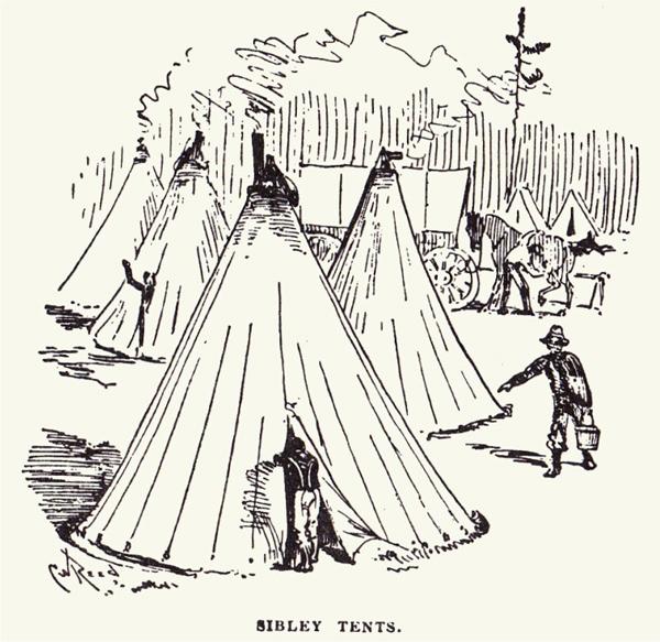 sibley tents true west