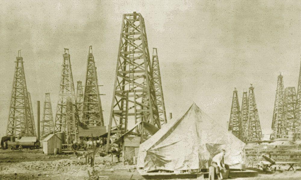 Lyne Barret Texas History Oil True West