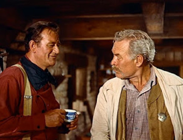 john wayne and bond true west