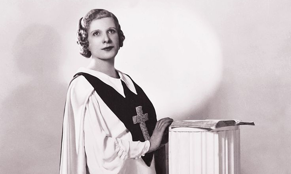 Aimee Semple McPherson True West