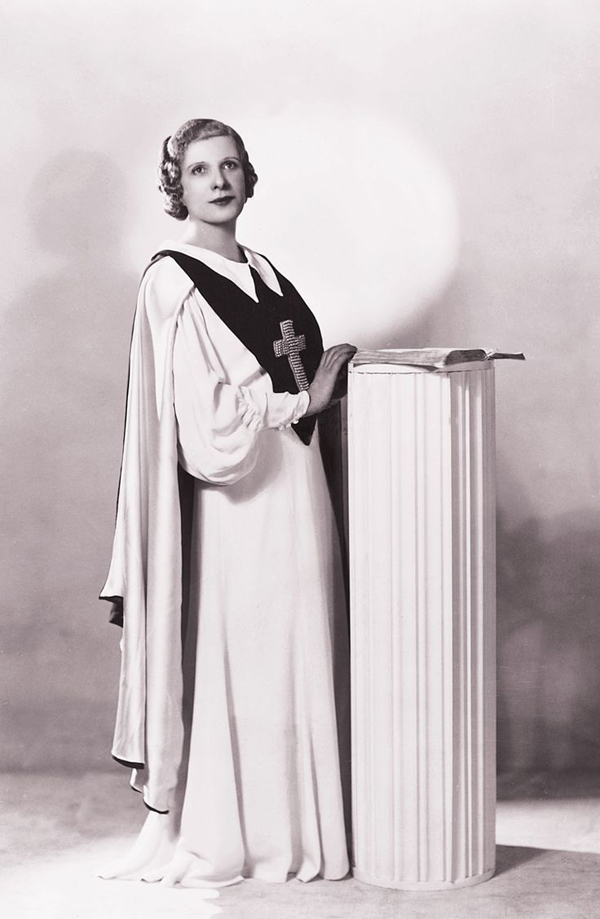Aimee Semple Mcpherson Part I True West Magazine