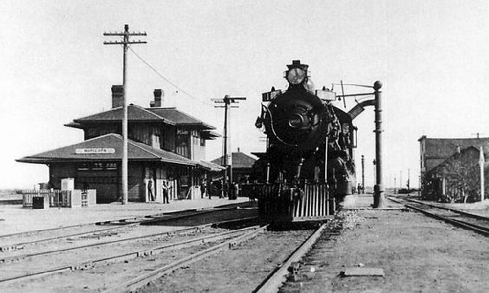 train true west