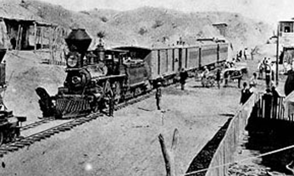 Tucson Railway 1880's True West