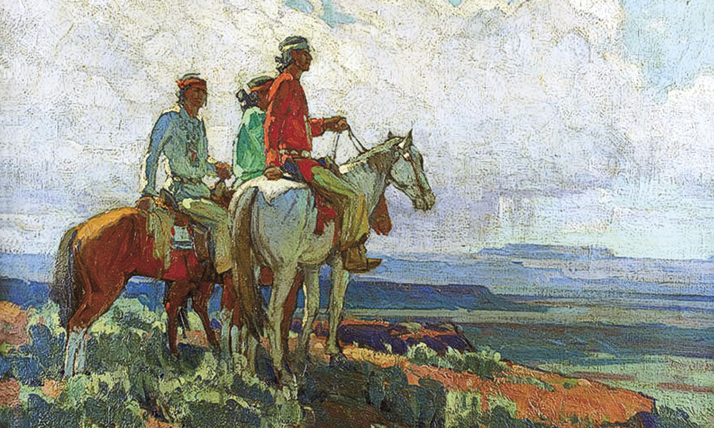 Edgar Alwin Payne Artist True West