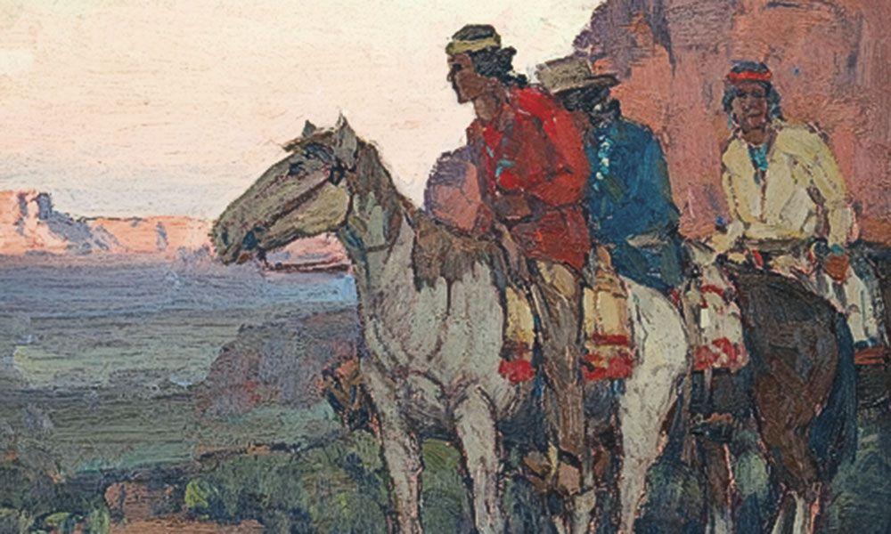 Edgar Alwin Payne Artist True West