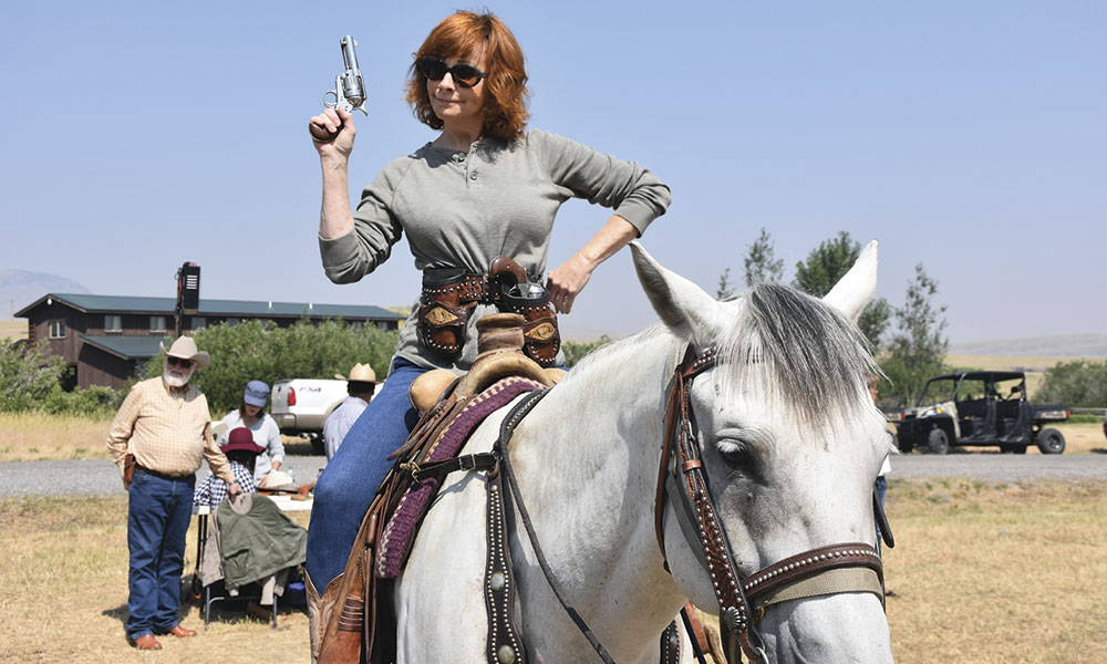 Reba McEntire History True West