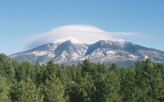 San Francisco Peaks, Arizona true west