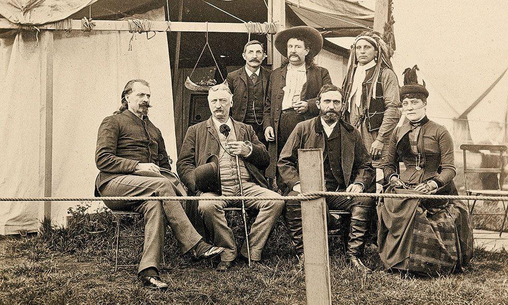 John Burke Buffalo Bill True West