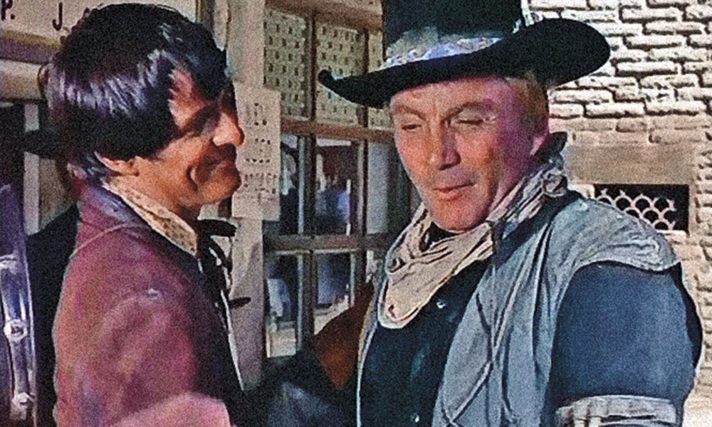 The High Chaparral Western Film True West