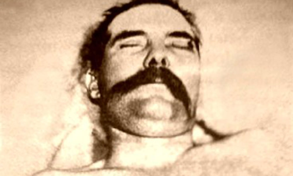 John Wesley Hardin postmortem True West