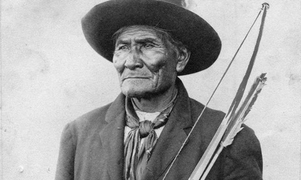 Geronimo in 1913 True West