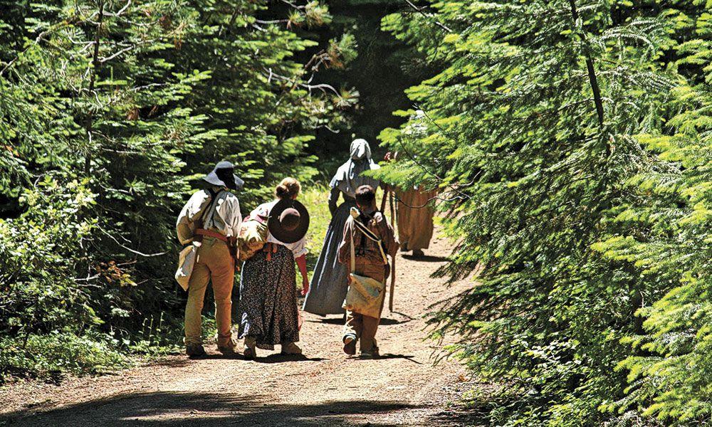 John Barlow Oregon Trail True West