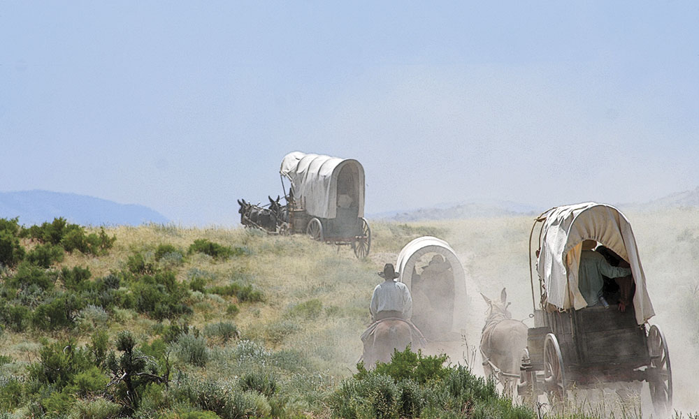 Wagon Oregon Trail True West