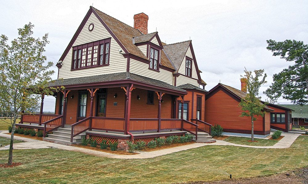 Cattle Towns True West Magazine Goodnight House