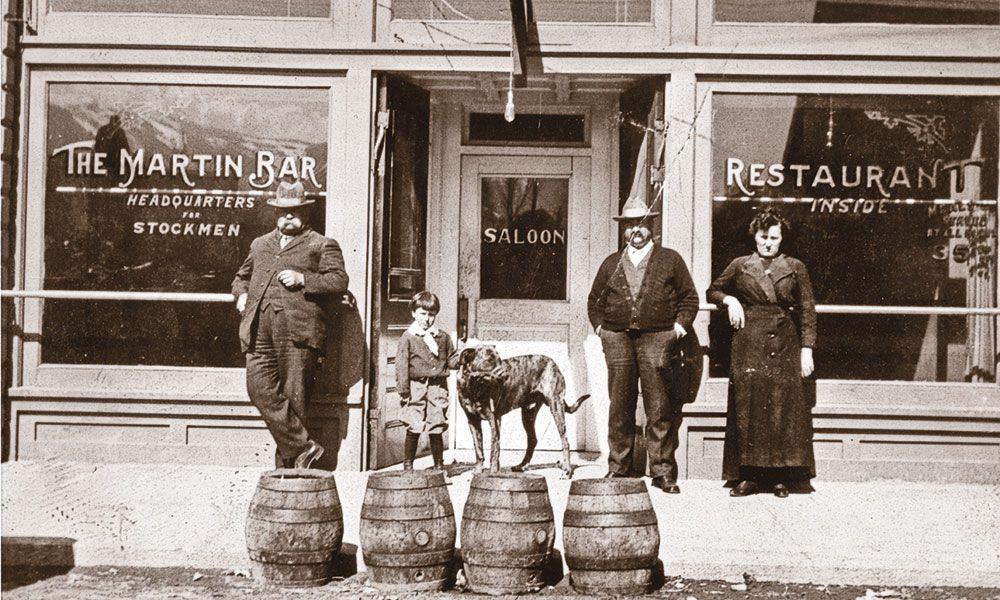 Martin Hotel, Winnemucca, NV 1915 True West