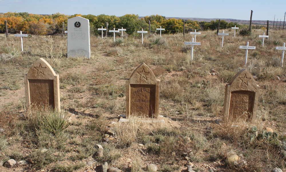 Tascosa Gunfight Graves