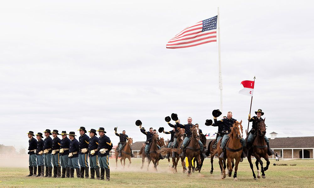 San Angelo Frontier Day Calvary True West
